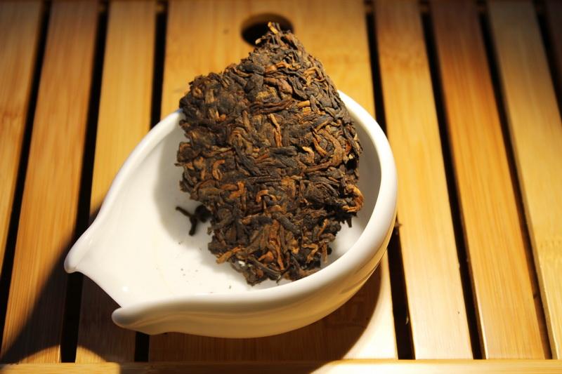 чай шу пуэр эффект